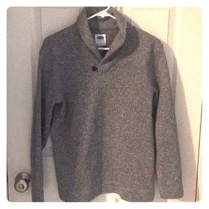 Cozy fleece pullover sweater